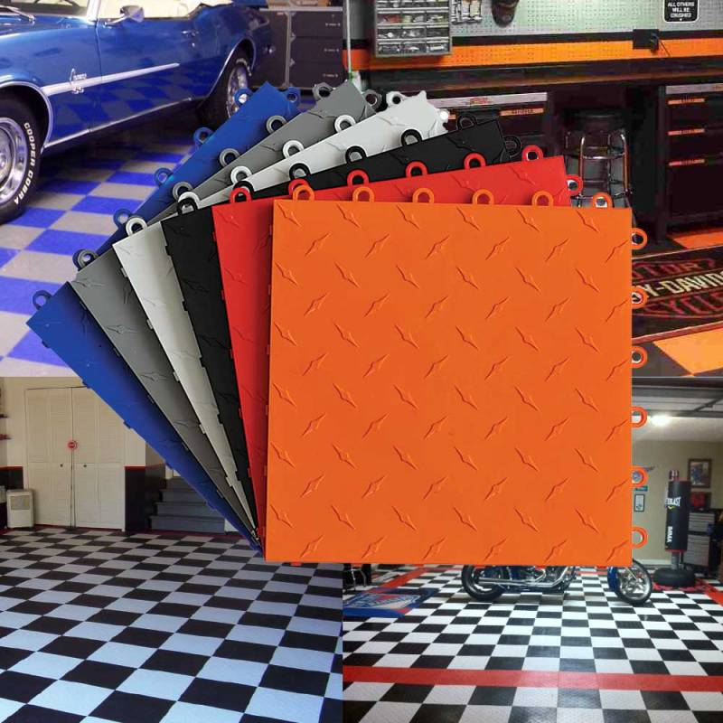 TrueLock Diamond Garage Tiles