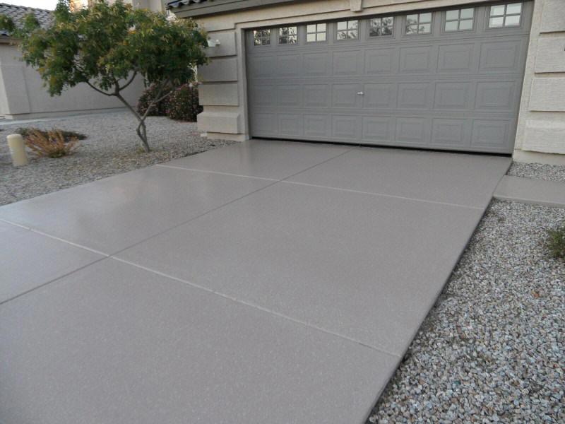 Photo of Concrete Driveway Epoxy Coatings