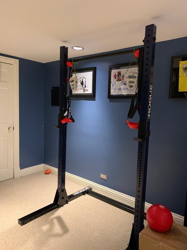 diy squat rack guide garage gym reviews
