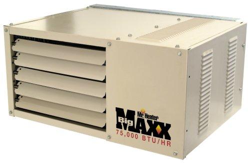 mr heater big maxx btu natural gas garage unit heater mhu75ng