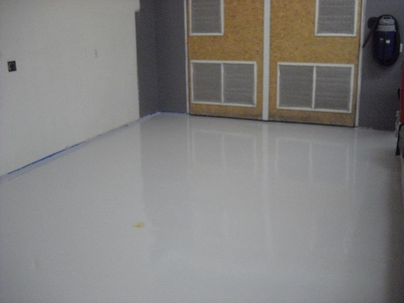 epoxy floor using sherwin williams tile