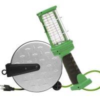 Designers Edge E319 30-Foot Retractable Extension Cord LED Handheld Work Light