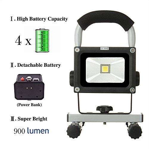 LOFTEK® 10W LED Work Light/Portable Work Lights with ...