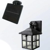 Square Solar Powered Entrance Doorway Staircase LED Wall Light