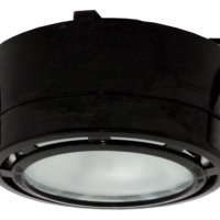 American Lighting ALPX40BK 12-Volt Under Cabinet Puck Lighting Kit, Xenon Bulb, 2 Pack, Black