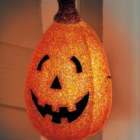 Halloween Pumpkin Porch Light Cover Home Decoration