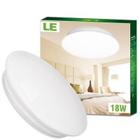 LE 18W 14-Inch Warm White LED Ceiling Lights, 120W Incandescent (40W Fluorescent) Bulbs Equivalent, 1450lm, 3000K, Ceiling Light Fixture, Ceiling Lighting, Flush Mount Light for Living Room, Bedroom