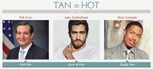 Hot tan men