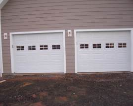 Stratford white short panel with short stocton windows
