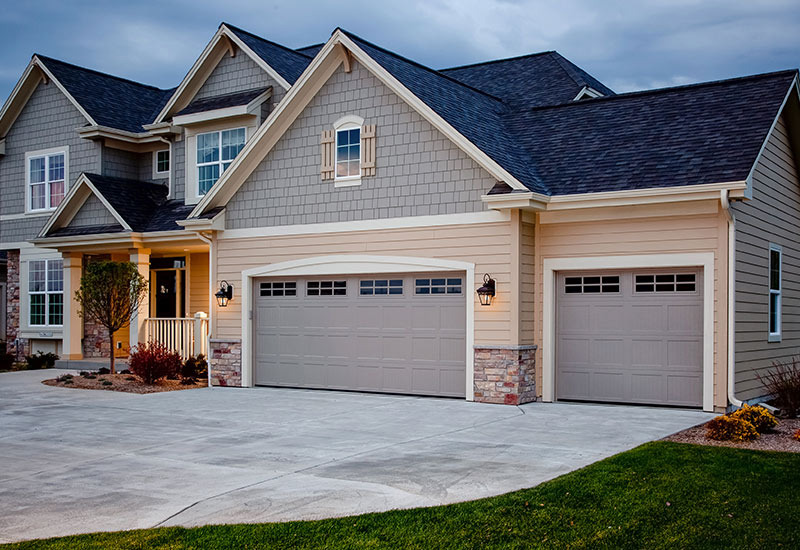 Garage Door Styles - Raised Panel Garage Doors
