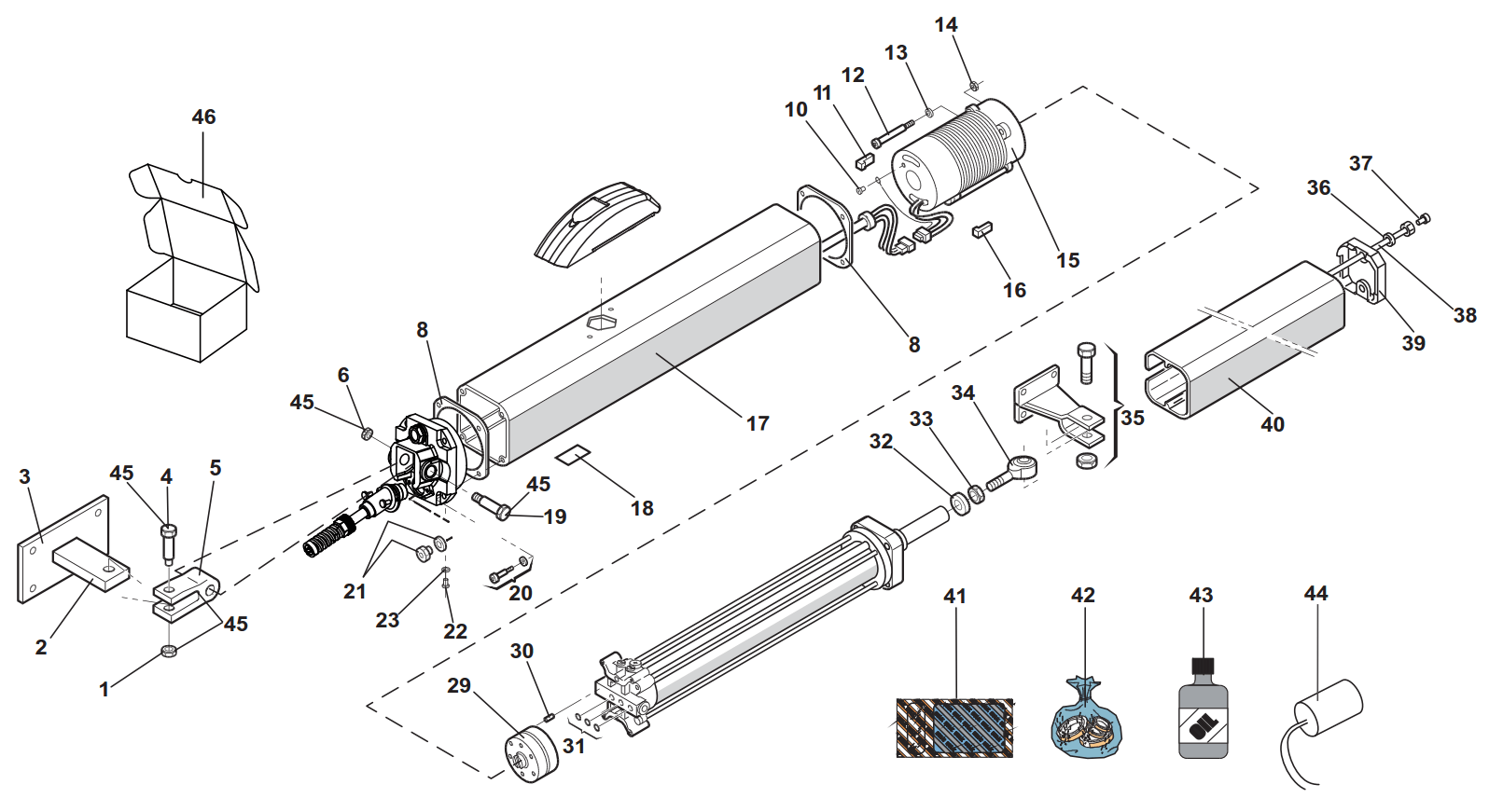 Faac 422 Spare Parts