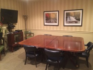 Garber Reporting videoconferencing and conference suite