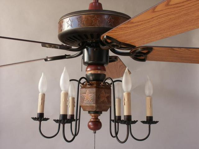 Primitive Country Ceiling Fans