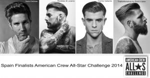 Spain finalist American Crew All-Star Challenge 2014