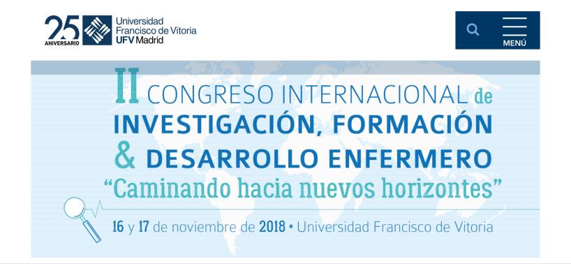 II Congreso Internacional de Investigación, Formación y Desarrollo Enfermero