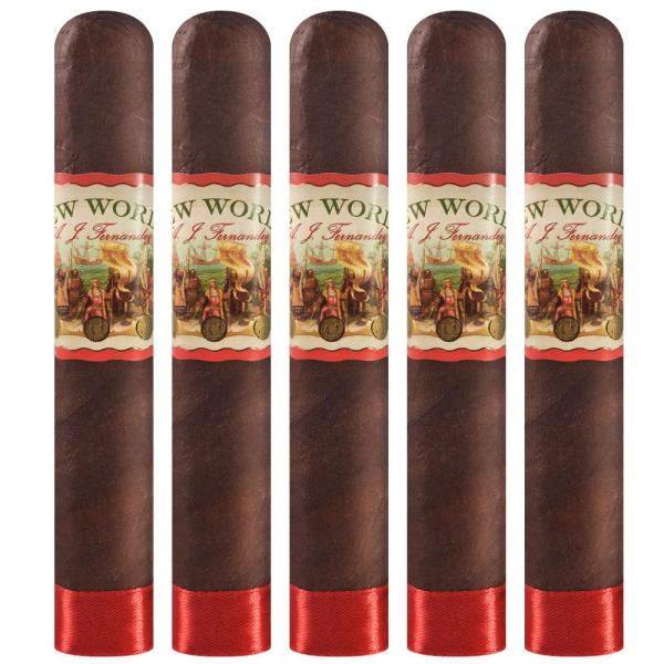 AJ Fernandez New World Navegante Robusto 5 Pack