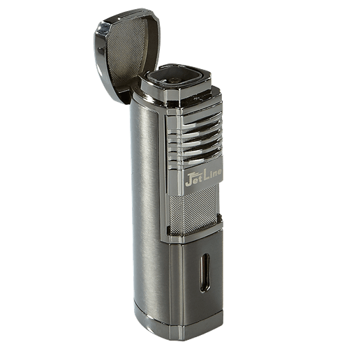 JetLine Villano Quad Torch Lighter Gun Metal