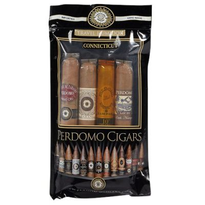 Perdomo Humidified Sampler 4 Pack Connecticut