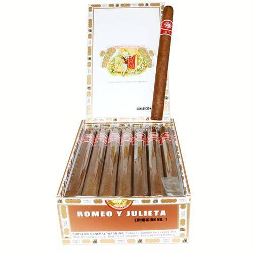 Romeo y Julieta 1875 Exhibicion No. 1 Box