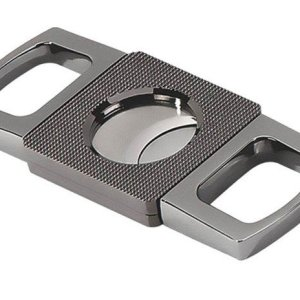 ETCHED GUILLOTINE CUTTER (GUN METAL)