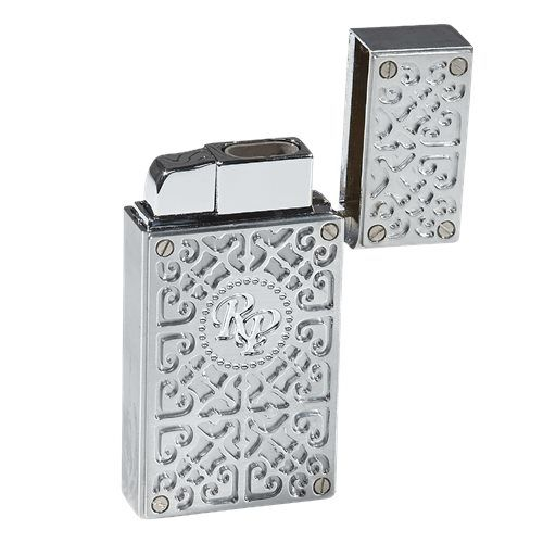 Rocky Patel Burn Lighter Chrome Silver