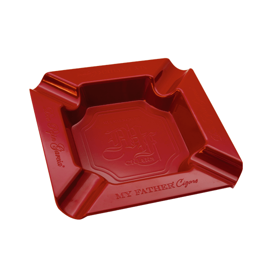 My Father Red Ashtray