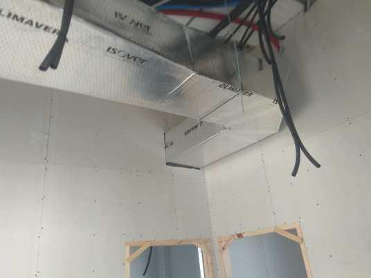 cableado y aire acondicionado