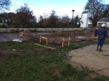Inicio de la construcción de la guardería