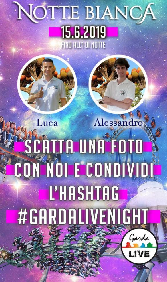 Gardaland Notte Bianca