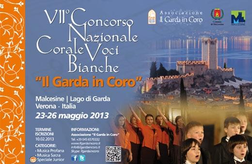 Locandina concorso corale voci bianche