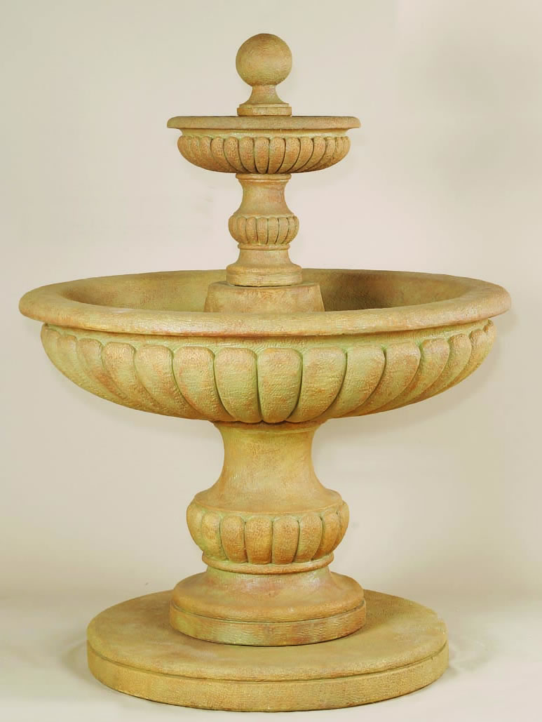 athene 2 tier outdoor water medium tiered water on 2 Tier Water Fountain id=33551