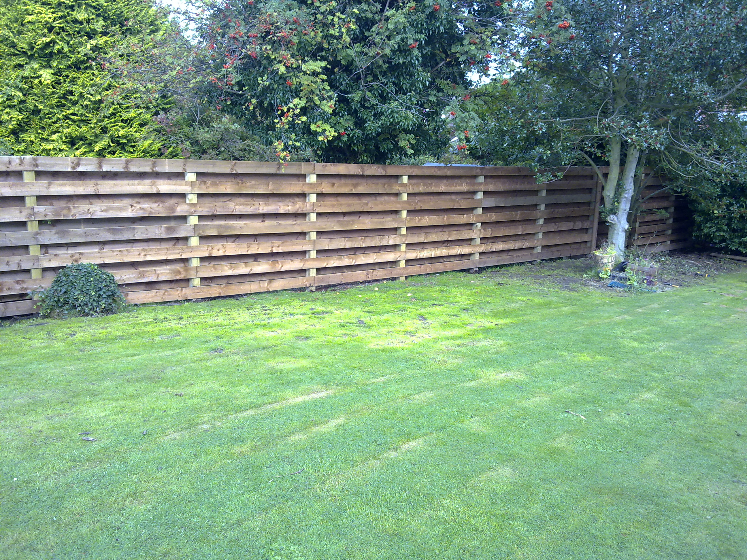 Garden Fencing Edinburgh