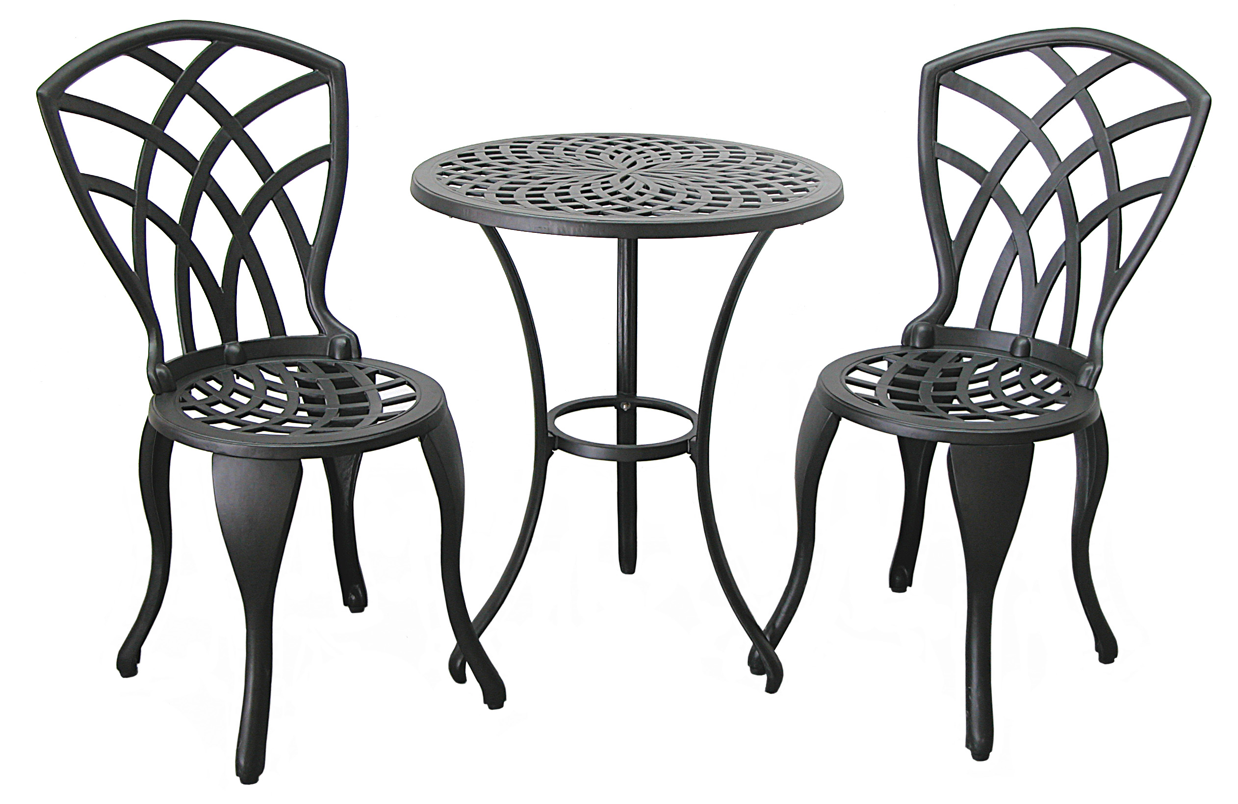 Patio Furniture Bistro Set Cast Aluminum Amp Iron Concord