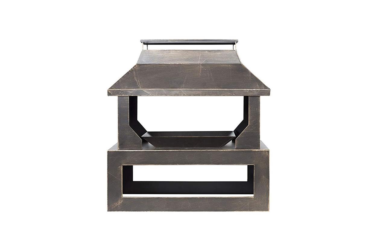 La Hacienda Stonehurst Steel Outdoor Fireplace - £119.99 ... on Quillen Steel Outdoor Fireplace  id=38634