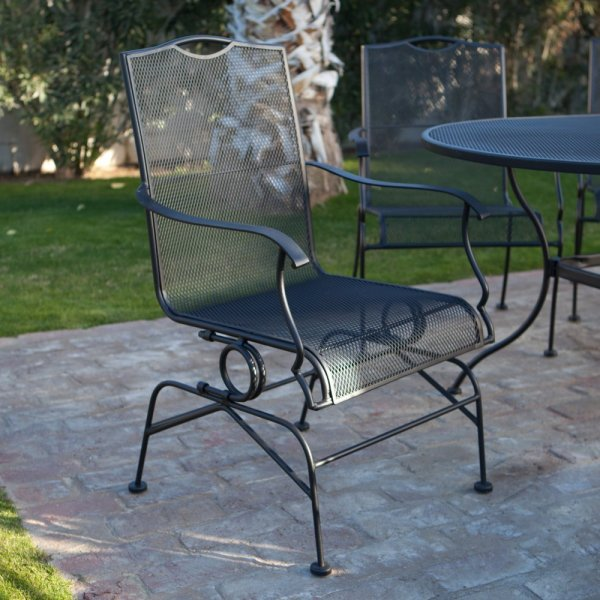 Wrought Iron Patio Furniture   The Garden And Patio Home Guide Wrought Iron Patio Furniture