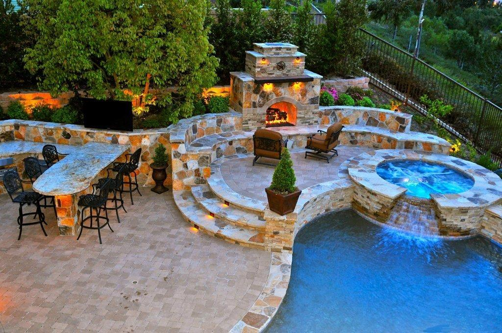 Inspiration: Dreamy Patios and Backyards | The Garden and ... on Dream House Backyard id=87308