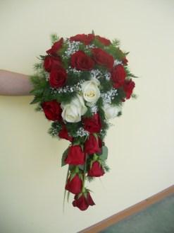 bouquet fiori rossi