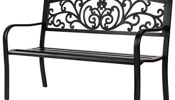 Fantastic Festnight 3 Seater Outdoor Patio Garden Bench Porch Chair Creativecarmelina Interior Chair Design Creativecarmelinacom