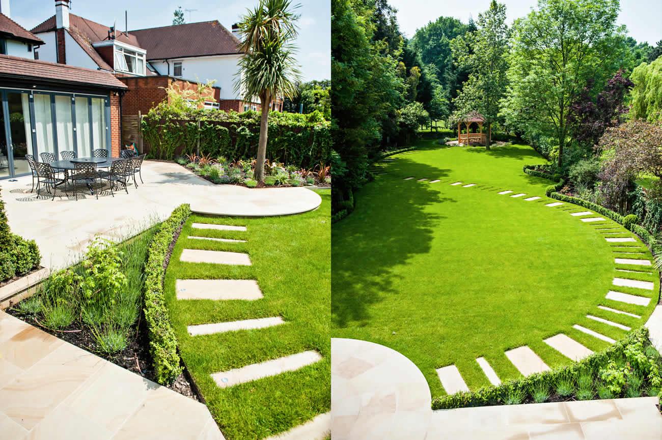 Large Garden Design