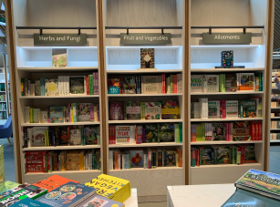 The famous Wisley Bookshop has been enhanced, and includes a softest area for browsing