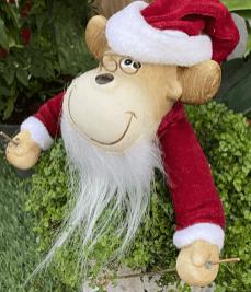 Santa is having planty fun