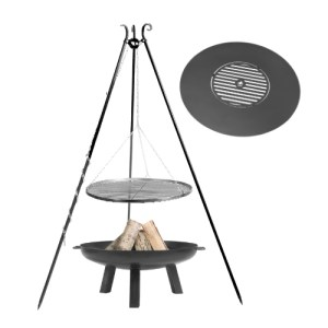 Fire Pit With BBQ