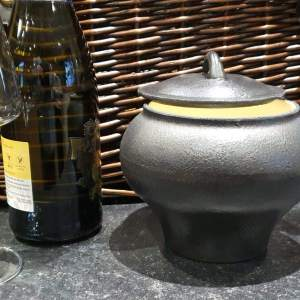 Small Cast Iron Cooking Pot
