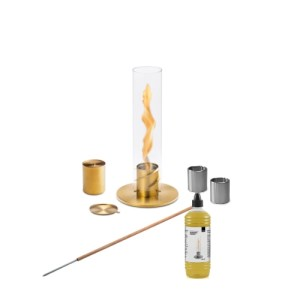 Höfats Spin 90 gold Garden Torch Bundle
