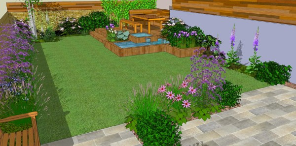 low maintenance small garden design ideas Low Maintenance garden designs - Garden Club London