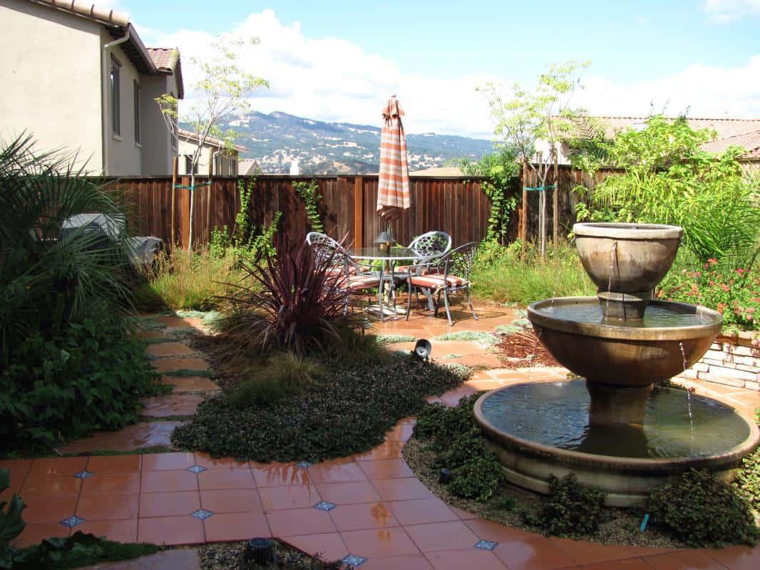 Mediterranean Patio - GardenCrafters on Small Mediterranean Patio Ideas id=69407