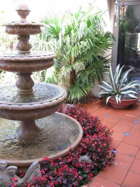 romantic garden fountain Variations On A Theme: A Romantic Garden - GardenCrafters
