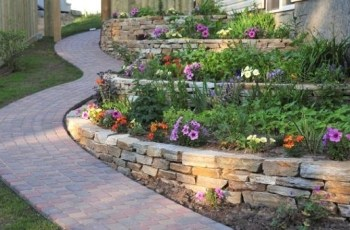 25 Beautiful Hill Landscaping Ideas And Terracing Inspirations throughout Small Backyard With Hill Landscaping Ideas