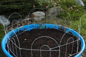 How To Turn A Kiddie Pool Into A Planter for Kiddie Pool Garden
