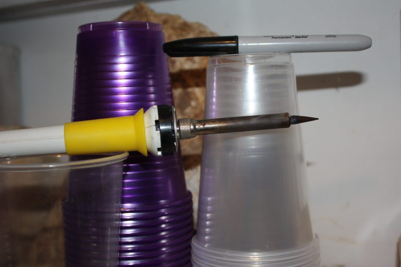 A Hot Tip for Gardening with Thermoplastics: Get a Soldering Iron